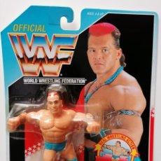 Figuras y Muñecos Pressing Catch: BLISTER TATANKA SERIE 6 WWF HASBRO WWF PRESSING CATCH WWE. Lote 179120188
