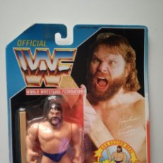 Figuras y Muñecos Pressing Catch: BLISTER ESTACA DUGGAN WWF HASBRO WWF PRESSING CATCH WWE. Lote 179120292
