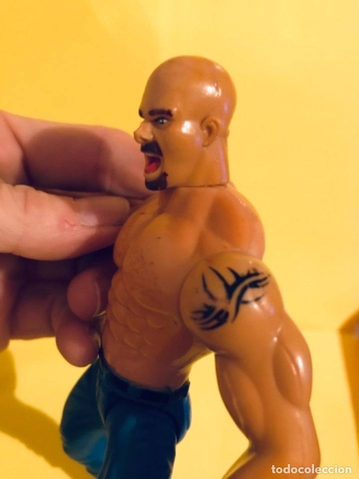 Figuras y Muñecos Pressing Catch: BILL GOLDBERG PRESSING CATCH WCW 1999 toy biz lucha - Foto 6 - 179327637