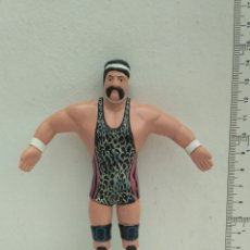 Figuras y Muñecos Pressing Catch: FIGURA DE ACCIÓN FLEXIBLE PRESSING CATCH RARO 1990 WCW JUST TOYS RICK STEINER. Lote 180937928
