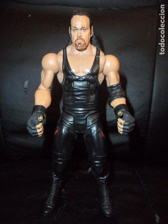 EL ENTERRADOR , CON MOVIMIENTO DE ACCION - WWE - MATTEL - PRESSING CATCH - UNDERTAKER (Juguetes - Figuras de Acción - Pressing Catch)