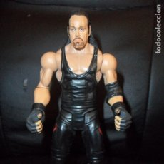 Figuras y Muñecos Pressing Catch: EL ENTERRADOR , CON MOVIMIENTO DE ACCION - WWE - MATTEL - PRESSING CATCH - UNDERTAKER. Lote 181449198