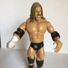 Figuras y Muñecos Pressing Catch: FIGURA WWE: TRIPLE H (JAKKS PACIFIC, 2003) 18 CMS. VINTAGE ¡COLECCIONISTA! ¡ORIGINAL!. Lote 182684917