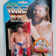Figuras y Muñecos Pressing Catch: BLISTER ESTACA DUGGAN WWF HASBRO PRESSING CATCH. Lote 179340468