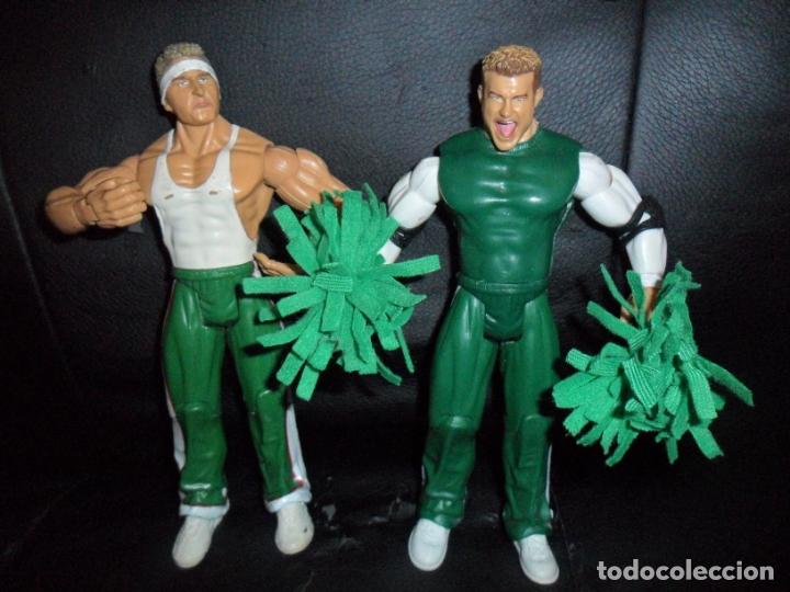 Figuras y Muñecos Pressing Catch: THE SPIRIT SQUAD, KENNY & NICKY (DOLPH ZIGGLER) - TAG TEAM - PRESSING CATCH - WWE WWF - JAKKS - Foto 2 - 183357513