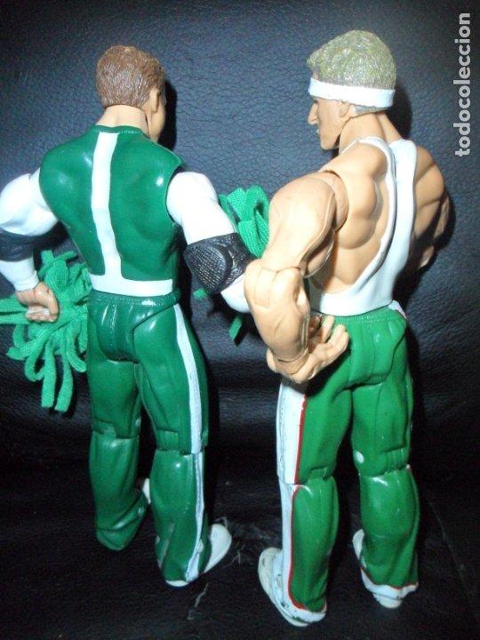 Figuras y Muñecos Pressing Catch: THE SPIRIT SQUAD, KENNY & NICKY (DOLPH ZIGGLER) - TAG TEAM - PRESSING CATCH - WWE WWF - JAKKS - Foto 3 - 183357513
