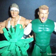 Figuras y Muñecos Pressing Catch: THE SPIRIT SQUAD, KENNY & NICKY (DOLPH ZIGGLER) - TAG TEAM - PRESSING CATCH - WWE WWF - JAKKS. Lote 183357513