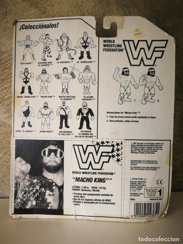 Figuras y Muñecos Pressing Catch: RANDY SAVAGE MACHO MAN WWF VINTAGE EN BLISTER ORIGINAL - Foto 4 - 184106017
