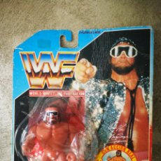 Figuras y Muñecos Pressing Catch: RANDY SAVAGE MACHO MAN WWF VINTAGE EN BLISTER ORIGINAL . Lote 184106017
