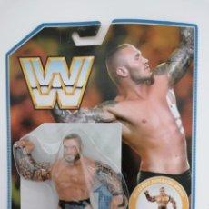 Figuras y Muñecos Pressing Catch: BLISTER RANDY ORTON WWE RETRO MATTEL WWF HASBRO. Lote 184231430
