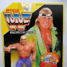Figuras y Muñecos Pressing Catch: BLISTER OWEN HART WWF HASBRO PRESSING CATCH WWE. Lote 186030302