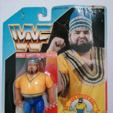 Figuras y Muñecos Pressing Catch: AKEEM RECIO WWF PRESSING CATCH HASBRO WWE. Lote 186191255