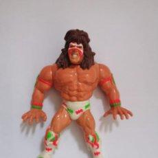 Figuras e Bonecos Pressing Catch: ÚLTIMO GUERRERO SERIE 2 WWF PRESSING CATCH HASBRO WWE. Lote 216060466