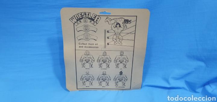 Figuras y Muñecos Pressing Catch: Blíster con dos figuras luchadores bootleg . Wrestler - Foto 3 - 189681963