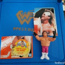 Figuras y Muñecos Pressing Catch: MUÑECO FIGURA PRESSING CATCH WWF WORLD WRESTLING FEDERATION BRUTUS BEEFCAKE EL BARBERO HASBRO. Lote 193744478