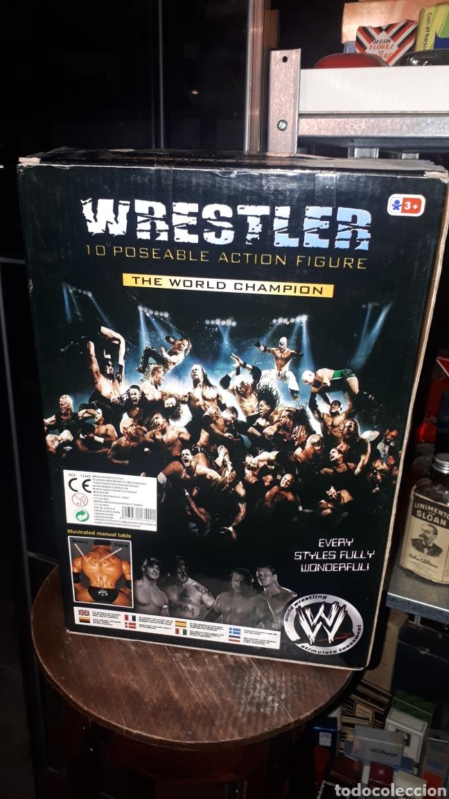 Figuras y Muñecos Pressing Catch: Luchador WWF WRESTLER BOOTLEG EN CAJA - Foto 4 - 194145120