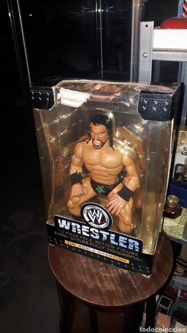 LUCHADOR WWF WRESTLER BOOTLEG EN CAJA (Juguetes - Figuras de Acción - Pressing Catch)