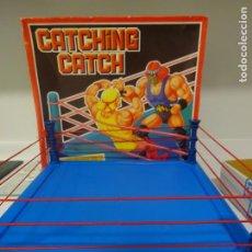 Figuras y Muñecos Pressing Catch: RING, CUADRILÁTERO, PRESSING CATCH, WWF, JUEGOS FALOMIR, JUFASA, AÑOS 90. Lote 194336622