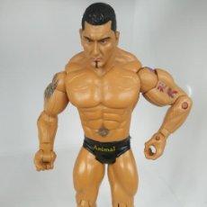 Figuras y Muñecos Pressing Catch: FIGURA LUCHADOR PRESSING CATCH LUCHA LIBRE ANIMAL BATISTA WWE JAKKS 2007. Lote 195202327