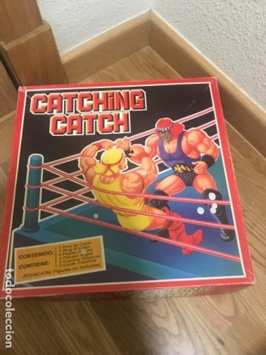 Figuras y Muñecos Pressing Catch: RING DE PRESSING CATCH WWF CATCHING CATCH.JUGUETES FALOMIR 1990 Nuevo almacén - Foto 1 - 197345377