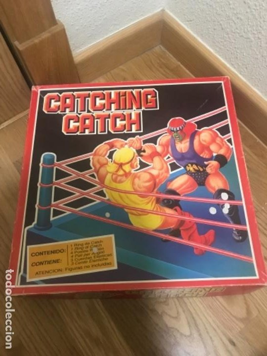 Figuras y Muñecos Pressing Catch: RING DE PRESSING CATCH WWF CATCHING CATCH.JUGUETES FALOMIR 1990 Nuevo almacén - Foto 2 - 197345377