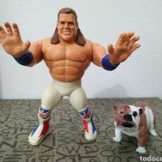 Figuras y Muñecos Pressing Catch: BRITISH BULLDOG WWF WWE PRESSING CATCH LUCHA LIBRE DAVY BOY SMITH SERIE 4 1992. Lote 198976041
