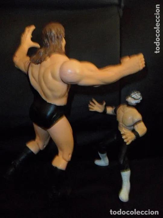 Figuras y Muñecos Pressing Catch: THE GIANT (BIG SHOW) & REY MYSTERIO - PRESSING CATCH - WCW 1999 TOY BIZ - - Foto 4 - 201768758