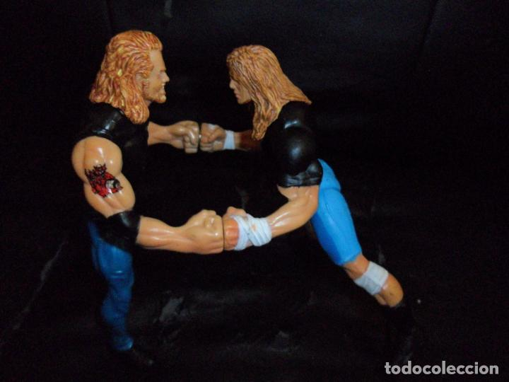 Figuras y Muñecos Pressing Catch: RAVEN VS. DDP - PRESSING CATCH - WCW - 1999 TOY BIZ - ACCION IMANES - Foto 2 - 201769616