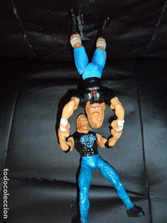 Figuras y Muñecos Pressing Catch: RAVEN VS. DDP - PRESSING CATCH - WCW - 1999 TOY BIZ - ACCION IMANES - Foto 5 - 201769616