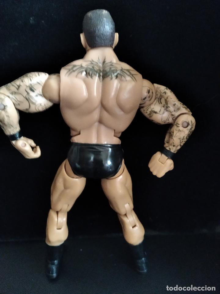 Figuras y Muñecos Pressing Catch: RANDY ORTON - FIGURA DELUXE ELITE - PRESSING CATCH - WWF WWE - JAKKS 2005- - Foto 3 - 204254556