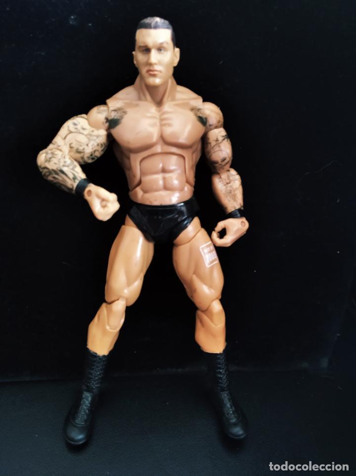 RANDY ORTON - FIGURA DELUXE ELITE - PRESSING CATCH - WWF WWE - JAKKS 2005- (Juguetes - Figuras de Acción - Pressing Catch)