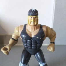 Figure e Bambolotti Pressing Catch: FIGURA DE ACCION HULK HOGAN BOOTLEG PRESSING CATCH WWF SMACKDOWN. Lote 206260785