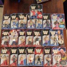 Figuras y Muñecos Pressing Catch: GRAN LOTE WWE/WWF HASBRO. Lote 206834178
