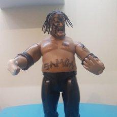 Figuras y Muñecos Pressing Catch: FIGURA ARTICULADA WWE 2004 JAKKS PACIFIC SAMOA. Lote 206966067