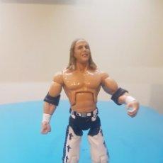 Figuras y Muñecos Pressing Catch: FIGURA ARTICULADA SHAWN MICHAELS 2007 WWE JAKKS PACIFIC TIPO GIJOE. Lote 206967661