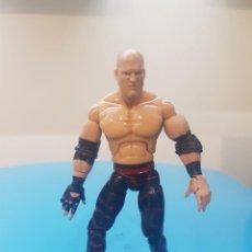Figuras y Muñecos Pressing Catch: FIGURA ARTICULADA 2007 WWE JAKKS PACIFIC TIPO GIJOE. Lote 206968782