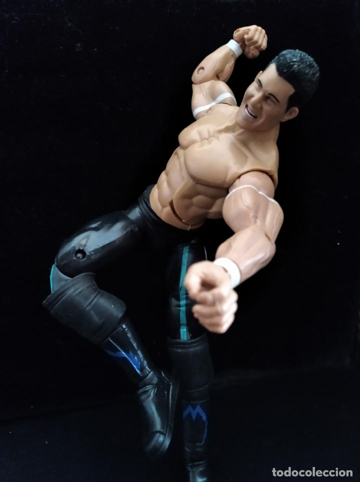 EVAN BOURNE - FIGURA DELUXE ELITE - PRESSING CATCH - WWF WWE - JAKKS 2005- (Juguetes - Figuras de Acción - Pressing Catch)