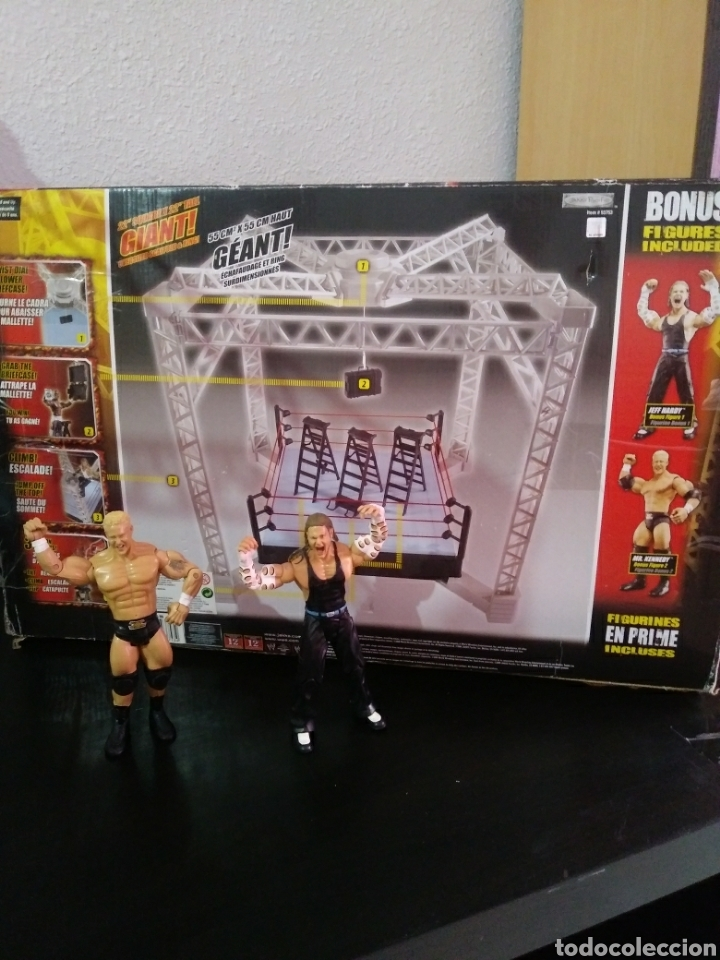 RING PRESSING WWE. (Juguetes - Figuras de Acción - Pressing Catch)