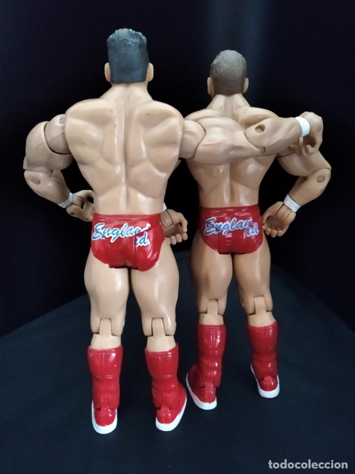 Figuras y Muñecos Pressing Catch: REGAL & SYLVAIN - TAG TEAM- PRESSING CATCH - WWE WWF - JAKKS - Foto 2 - 209126205