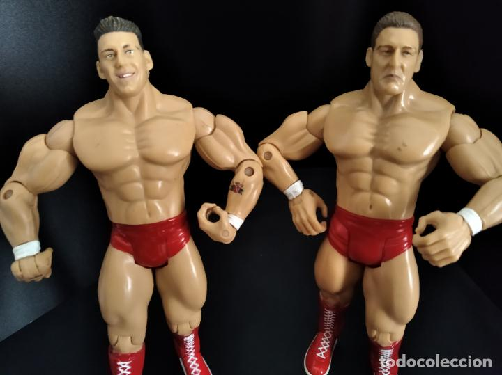 Figuras y Muñecos Pressing Catch: REGAL & SYLVAIN - TAG TEAM- PRESSING CATCH - WWE WWF - JAKKS - Foto 4 - 209126205