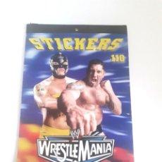 Figuras y Muñecos Pressing Catch: PEGATINAS WWE PRESSING CATCH STICKERS.. Lote 209133183