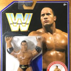 Figuras y Muñecos Pressing Catch: THE ROCK - WWF RETRO SERIES AÑO 2017. Lote 209186906
