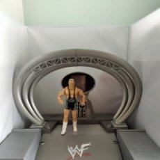 Figuras y Muñecos Pressing Catch: ENTRADA LUCHADORES WWE/ WWF - SET MONTABLE GIGANTE - JAKKS -. Lote 210330441
