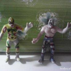 Figuras y Muñecos Pressing Catch: ANTIGUAS FIGURAS LUCHA LIBRE MEXICANA PLASTICO DURO. Lote 210456548
