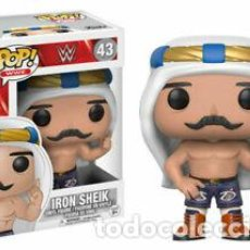 Figuras y Muñecos Pressing Catch: IRON SHEIK - WWF, FUNKO POP - EN CAJA NUEVO-. Lote 210953405