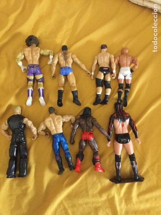 Figuras y Muñecos Pressing Catch: Lote de ocho luchadores de pressing Catch - Foto 4 - 211690205