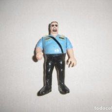 Figuras y Muñecos Pressing Catch: FIGURA BIG BOSS MAN POLI LOCO. WWF WWE. HASBRO. TITAN SPORTS.. Lote 212904932
