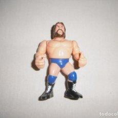 Figuras y Muñecos Pressing Catch: FIGURA JIM DUGGAN HACKSAW JIM ESTACA. WWF WWE. HASBRO. TITAN SPORTS.. Lote 212905050