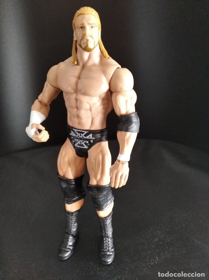 TRIPLE H - WWE - MATTEL - PRESSING CATCH - (Juguetes - Figuras de Acción - Pressing Catch)