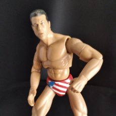 Figuras y Muñecos Pressing Catch: KURT ANGLE - FIGURA DELUXE ELITE - PRESSING CATCH - WWF WWE - JAKKS 2000-. Lote 214272803